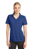 Sport Tek Ladies Micro Mesh Polo Royal  Custom Embroidered LST680
