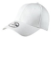 Custom White Embroidered Stretch Back Hat New Era NE1020
