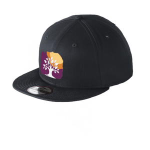 New Era Snapback Hat Custom Embroidered NE400 Black