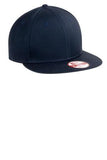 Custom Embroidered Black Flat Rim Hat
