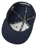 Custom Embroidered Navy Flat Rim Hat
