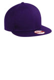 Custom Embroidered Purple Flat Rim Hat