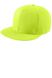 Custom Embroidered Neon Yellow Flat Rim Hat