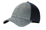Big Bend Dr New Era Shadow Stretch Mesh Cap Custom Embroidered NE702 Navy Heather