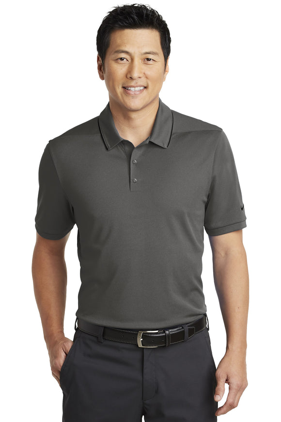 Nike  Dri Fit polo Anthracite black Custom Embroidered NKAA1849