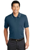 Nike  Dri Fit polo Navy White Custom Embroidered NKAA1849