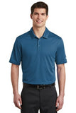 Nike Dri Fit Textured Polo Court Blue Custom Embroidered NKAA6266