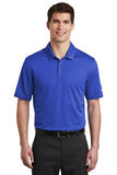 Nike Dri Fit Textured Polo Game Royal Custom Embroidered NKAA6266
