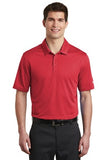 Nike Dri Fit Textured Polo Red Custom Embroidered NKAA6266