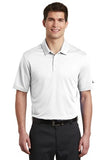Nike Dri Fit Textured Polo White Custom Embroidered NKAA6266