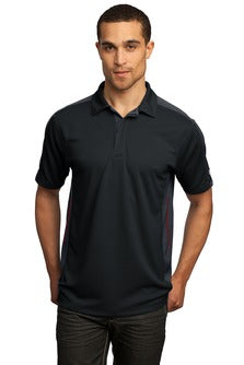 OGIO Trax Polo Custom Embroidered OG106 Black Grey Red
