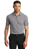 OGIO Thread Polo Grey Heather Custom Embroidered OG135