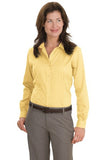 Red House Ladies Non Iron Button Down Shirt Yellow Custom Embroidered RH47