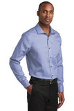 Red House Slim Fit Pinpoint Oxford Non Iron Shirt Custom Embroidered RH620 Vintage Navy