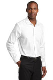 Red House Slim Fit Pinpoint Oxford Non Iron Shirt Custom Embroidered RH620 White
