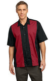 men's short sleeve button down shirt