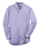 custom logo men's button down shirt