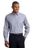 men's custom logo button down shirt