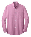 embroidered men's button down shirt