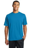 Sport Tek Mesh Racer T shirt Pond Blue Custom Embroidered ST340