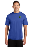 Sport Tek Competitor T Shirt  Custom Embroidered ST350 Royal