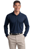 True Navy Sport tek Embroidered Polo shirts ST657