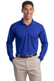 True Royal Sport Tek Embroidered Polo Shirts