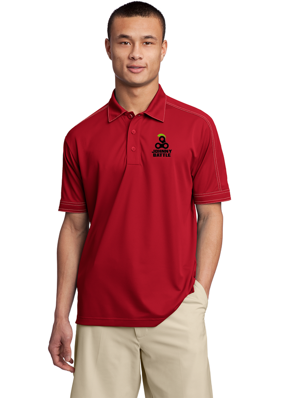 Sport Tek Polo Red Custom Embroidered ST659