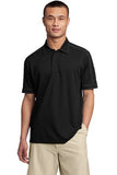 Sport Tek Polo Black  Custom Embroidered ST659