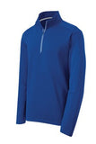 sPORT tEK qUARTER zIP pULL oVER Custom Embroidered ST860 Royal