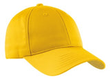Custom Embroidered Gold Hat Sport-Tek STC10