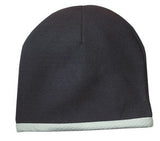 Sport Tek Knit Beanie Black Custom Embroidered STC15
