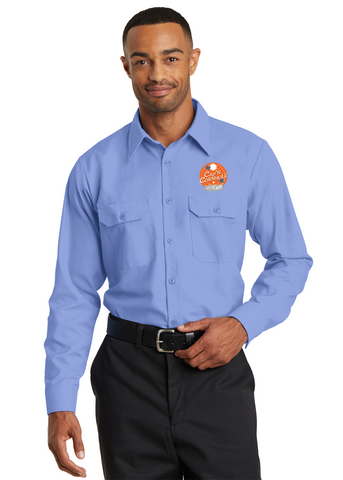 Rustler Ridge - Red Kap® Long Sleeve Solid Ripstop Shirt. (SY50)