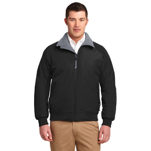 River Pl Port Authority Tall Challenger Jacket Custom Embroidered TLJ754 Black