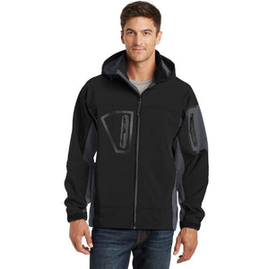 Latimer Pl Port Authority Tall Waterproof Soft Shell Jacket Custom Embroidered TLJ798
