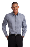 Edwards Way Port Authority® Tall Tattersall Easy Care Shirt TLS642