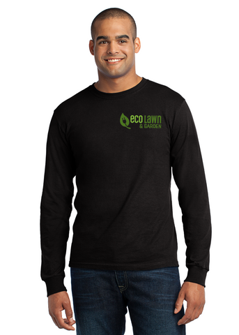 Star Fire - Port & Company® - Long Sleeve All-American Embroidered Tee (USA100LS)