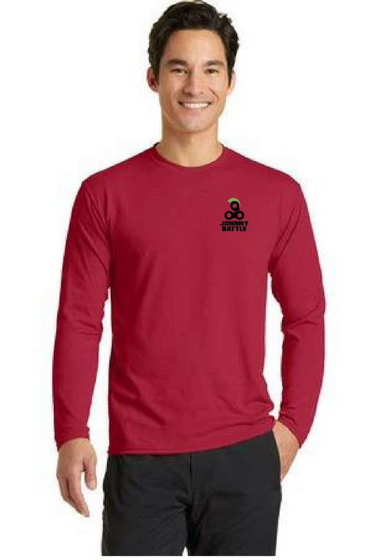 Tempo - Port & Company® Long Sleeve Essential Blended Performance Custom Tee (PC381LS)