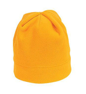 Port Authority Fleece Beanie Gold Custom Embroidered C900