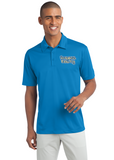 Port Authority Silk Polo Custom Embroidered K540 Carolina Blue