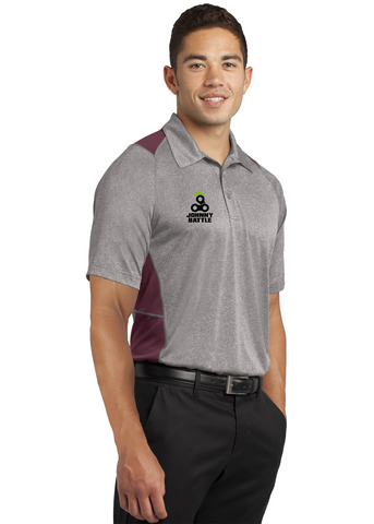 Monument - Sport-Tek® Heather Colorblock Contender™ Polo. (ST665)