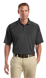 CornerStone Tall Snag Proof Tactical Polo Custom Embroidered TLCS410 Charcoal