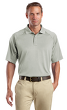 CornerStone Tall Snag Proof Tactical Polo Custom Embroidered TLCS410 Light Grey
