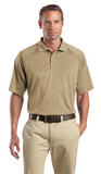 CornerStone Tall Snag Proof Tactical Polo Custom Embroidered TLCS410 Tan