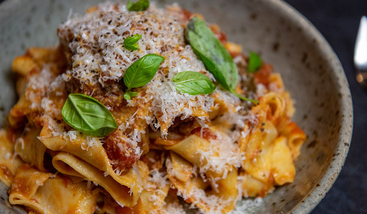 Duck Ragu with pappardelle