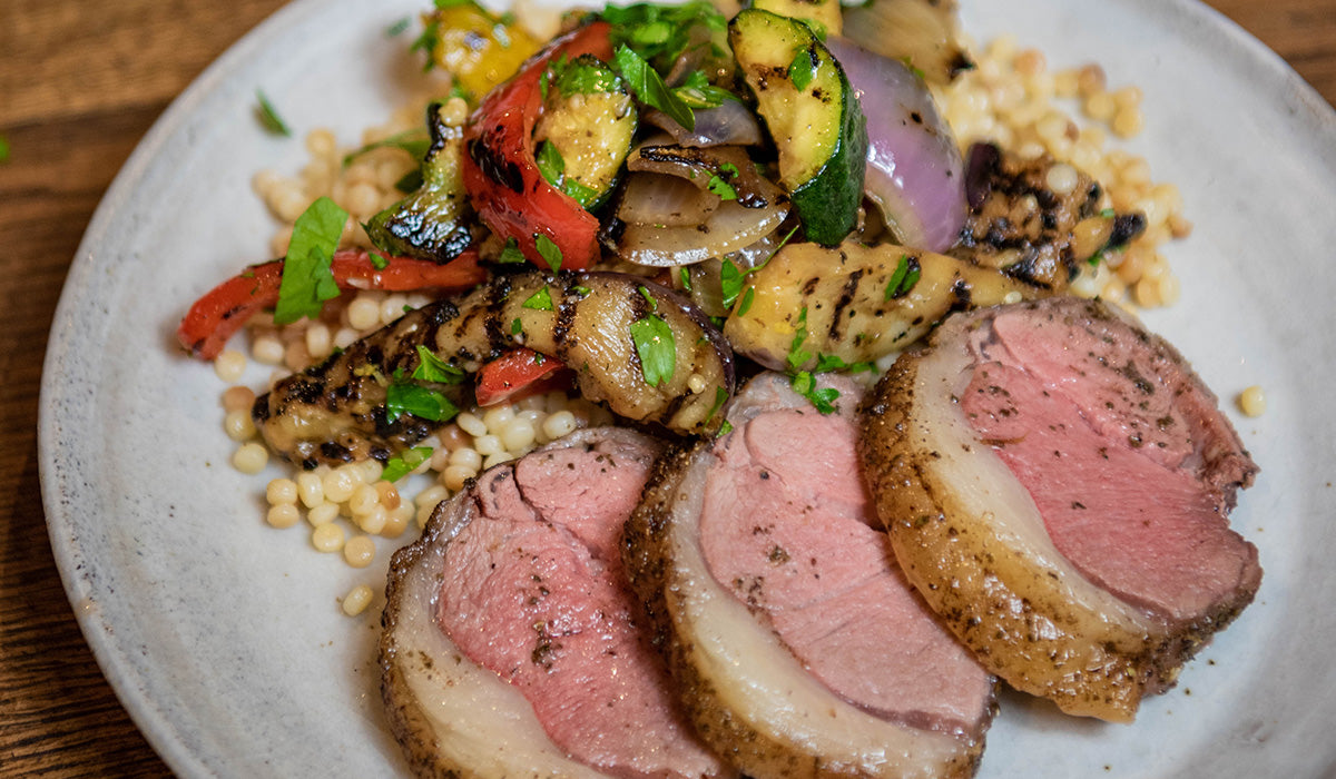 Desert Herb Seasoned Lamb Loin Roast