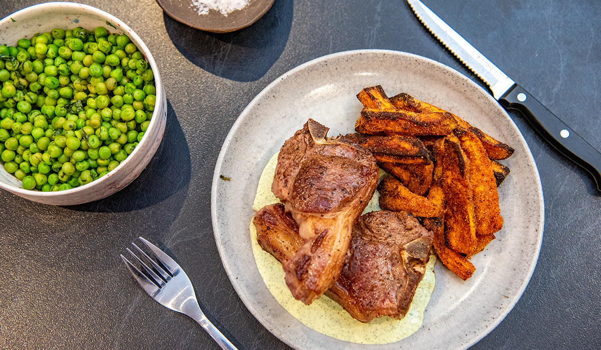 How to cook the perfect lamb chop