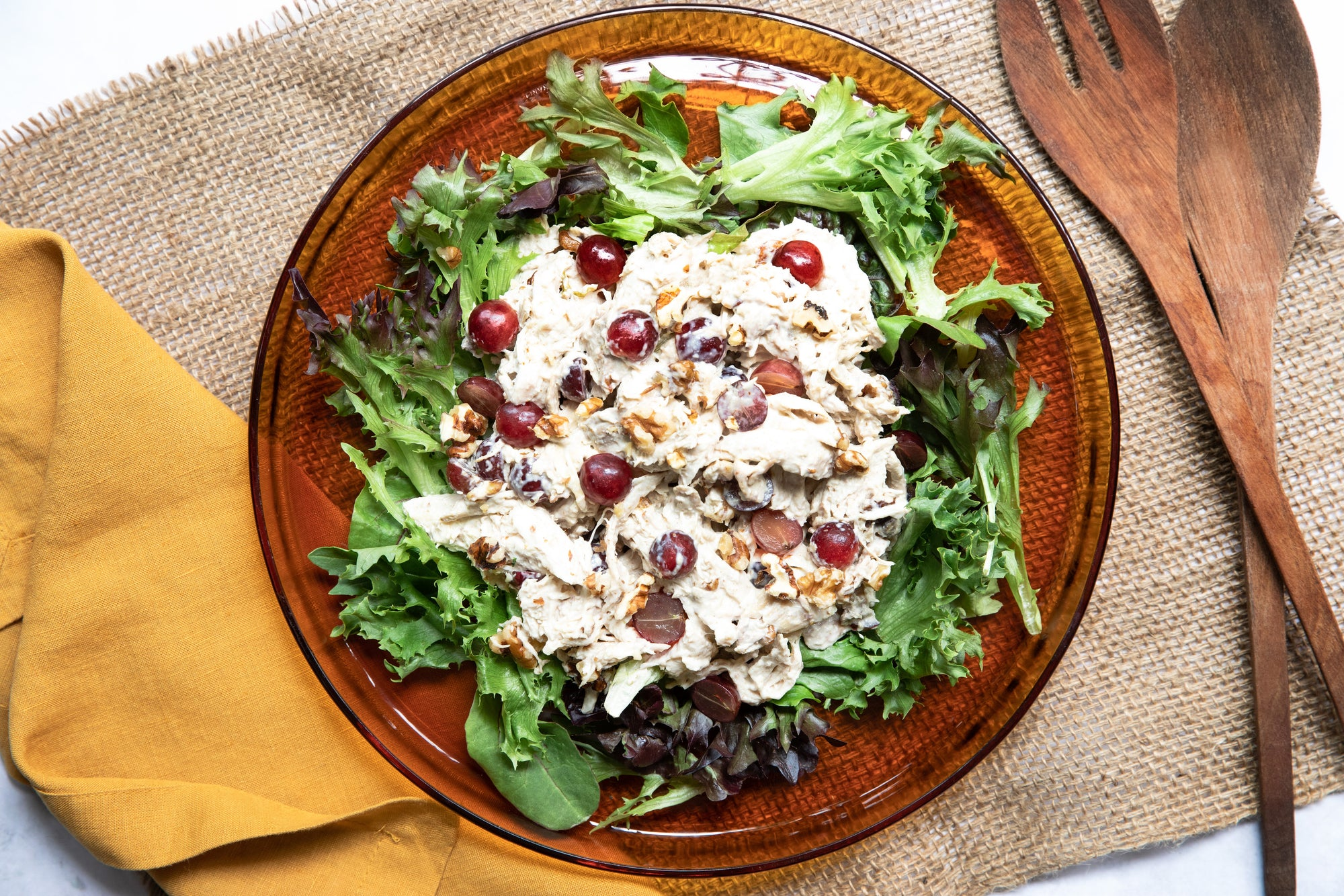 Poached Chicken Salad by Hayley McKee