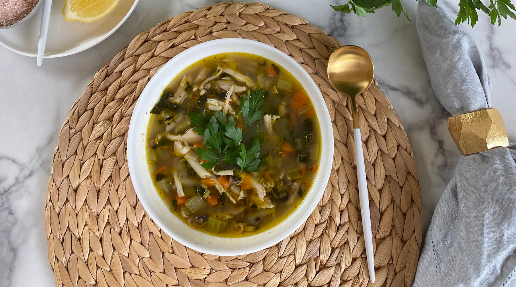 Nourishing Chicken Soup with Stephanie Gobbo