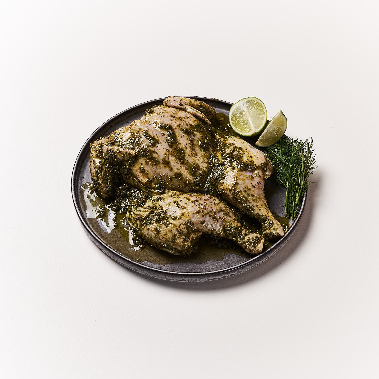 Greek Marinated Butterflied Chicken